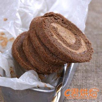 标题:巧克力蛋糕卷圣诞树根蛋糕  内容