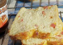 <b>咸香诱惑 - 火腿奶酪土司的做法</b>