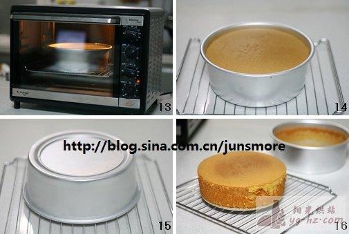 戚风蛋糕制作过程