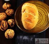 超美味营养的小面包——核桃面包的做法