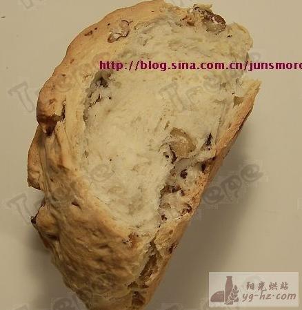 核桃优格苏打面包---我很丑,但请给我机会温柔