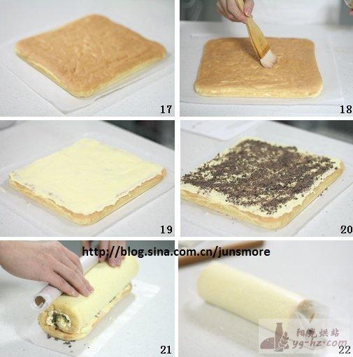 浓郁奶油蛋糕卷的做法(附法式奶油霜做法)---浓郁口感轻松创造
