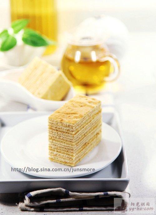 蜂蜜千层蛋糕的做法--君之烘焙