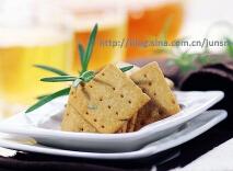 橄榄油迷迭香脆饼的做法,松脆、营养、健康、低热量