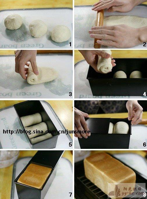 最易上手的土司方子---奶香土司