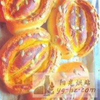 南瓜面包的做法图解8