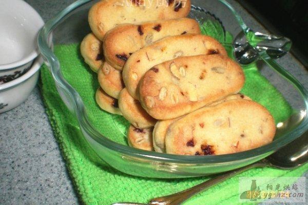 非常香酥的五仁饼干的做法