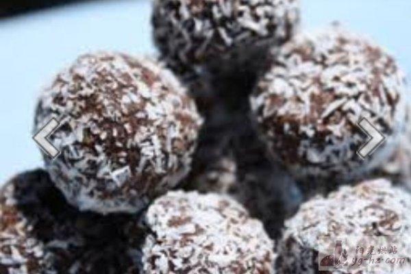 饼干巧克力球的做法