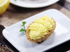 柠檬奶油挞的做法,非常香滑好吃的