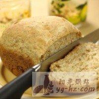 松子全麦面包的做法图解2