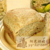 松子全麦面包的做法图解3