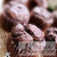 DIY香浓巧克力小蛋糕的做法图解5