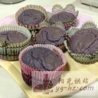 紫薯夹心蛋糕的做法图解10