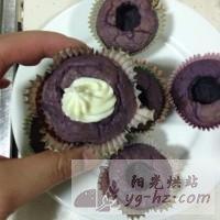 紫薯夹心蛋糕的做法图解12