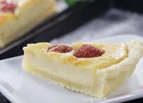超香酥派皮,超浓郁派馅---草莓奶酪派的做法
