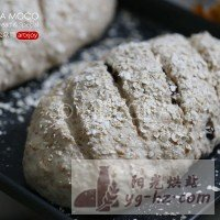 天然酵母-葡萄干全麦面包的做法图解13