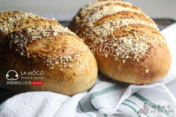天然酵母-葡萄干全麦面包的做法