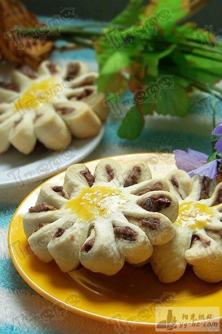 君之香蕉酥视频_传统点心——豆沙菊花酥的做法 - 君之博客 阳光烘站