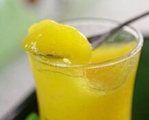 夏天吃冰沙最爽口---芒果冰沙