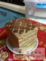 咖啡千层蛋糕的做法