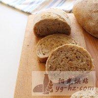 全麦杂粮面包--九阳烤箱试用报告的做法图解10