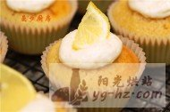 曼步厨房柠檬纸杯蛋糕的做法