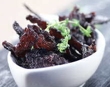 自家烤出的好吃零食---南洋风味牛肉干