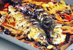 喷香的烤鱼---豉汁烤鱼