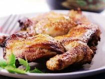 烤整鸡最美味的处理方法---蜜汁香料烤鸡