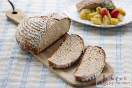 黑麦法式乡村面包的做法