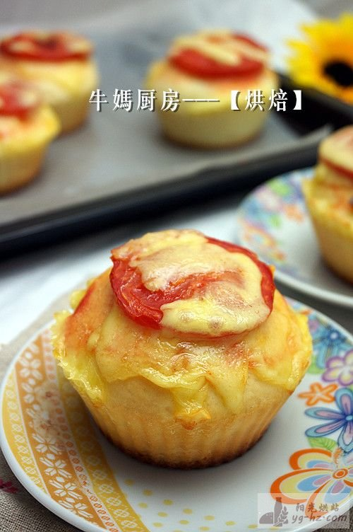 芝士番茄面包的做法