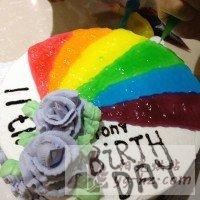 生日蛋糕(8寸)的做法图解8