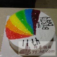 生日蛋糕(8寸)的做法图解7