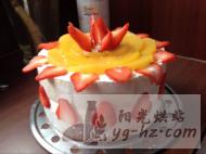 黄桃草莓生日蛋糕的做法