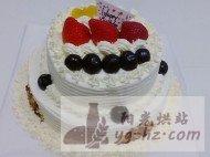 双层水果生日蛋糕的做法