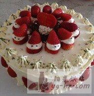 草莓生日蛋糕的做法