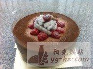 酒香巧克力蛋糕的做法