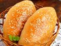 芝麻肉松面包