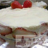 草莓慕斯生日蛋糕的做法图解7