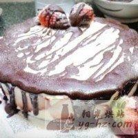 草莓慕斯生日蛋糕的做法图解8