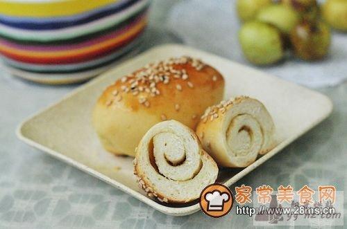 腐乳面包的做法