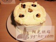 全蛋海绵蛋糕6寸模的做法