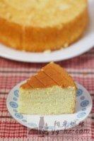 8寸海绵蛋糕的做法