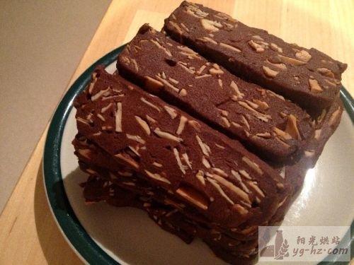 巧克力脆脆曲奇的做法