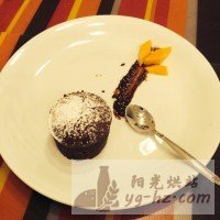 熔岩巧克力蛋糕的做法图解7
