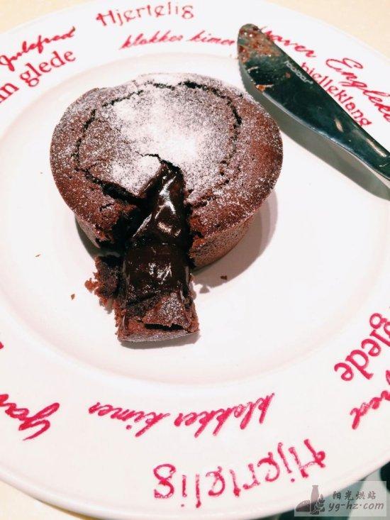 巧克力熔岩蛋糕的做法