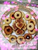 甜甜圈爱心小蛋糕的做法