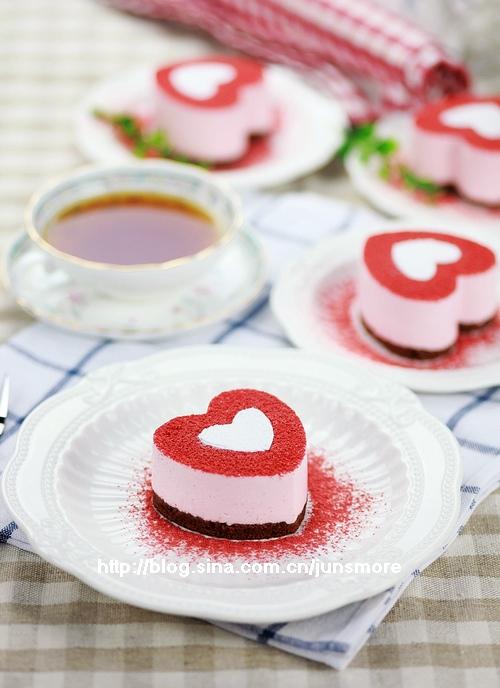 雀巢下午茶时光---心形草莓慕斯