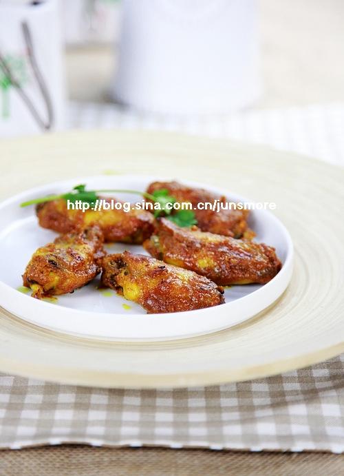 美味咖喱酱是如何炼成的---咖喱烤鸡翅(长帝特约食谱)