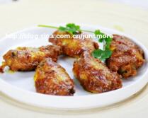 美味咖喱酱是如何炼成的---咖喱烤鸡翅